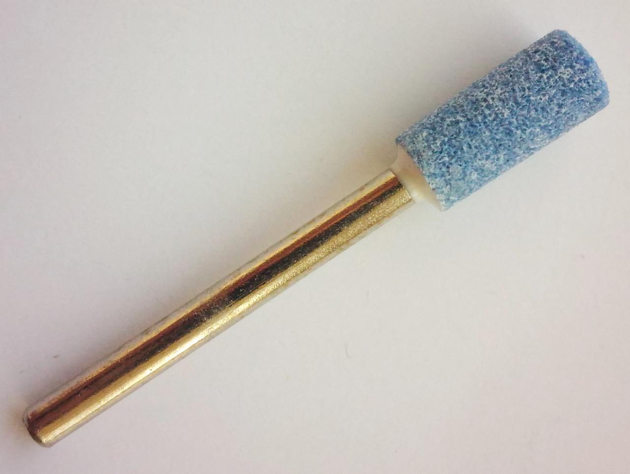 Шлифовальная насадка - цилиндр 5 мм, Материал - карбид кремния. Абразивная шарошка