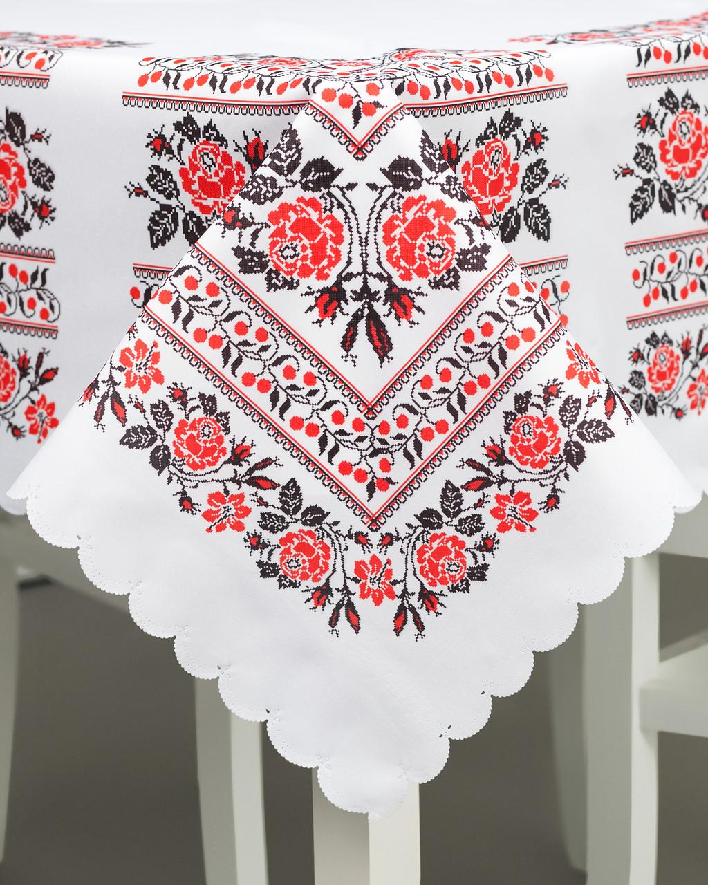 Скатерть на стол с орнаментом