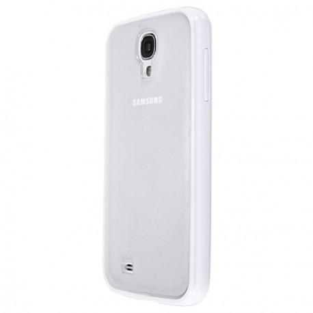 Чехол TPU Накладка для Samsung S4 Белый