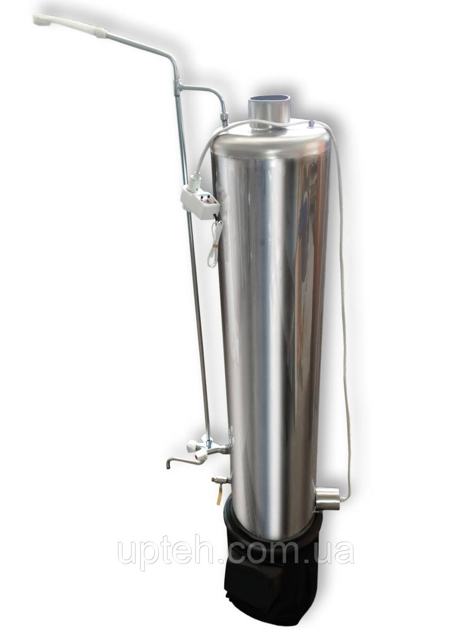 Титан Водогрейный Электро (Универсальный) + Топка + Набор кранов, Водогрейная колонка