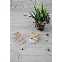 Босоножки светлые - одежда и обувь для кукол типа Baby Born