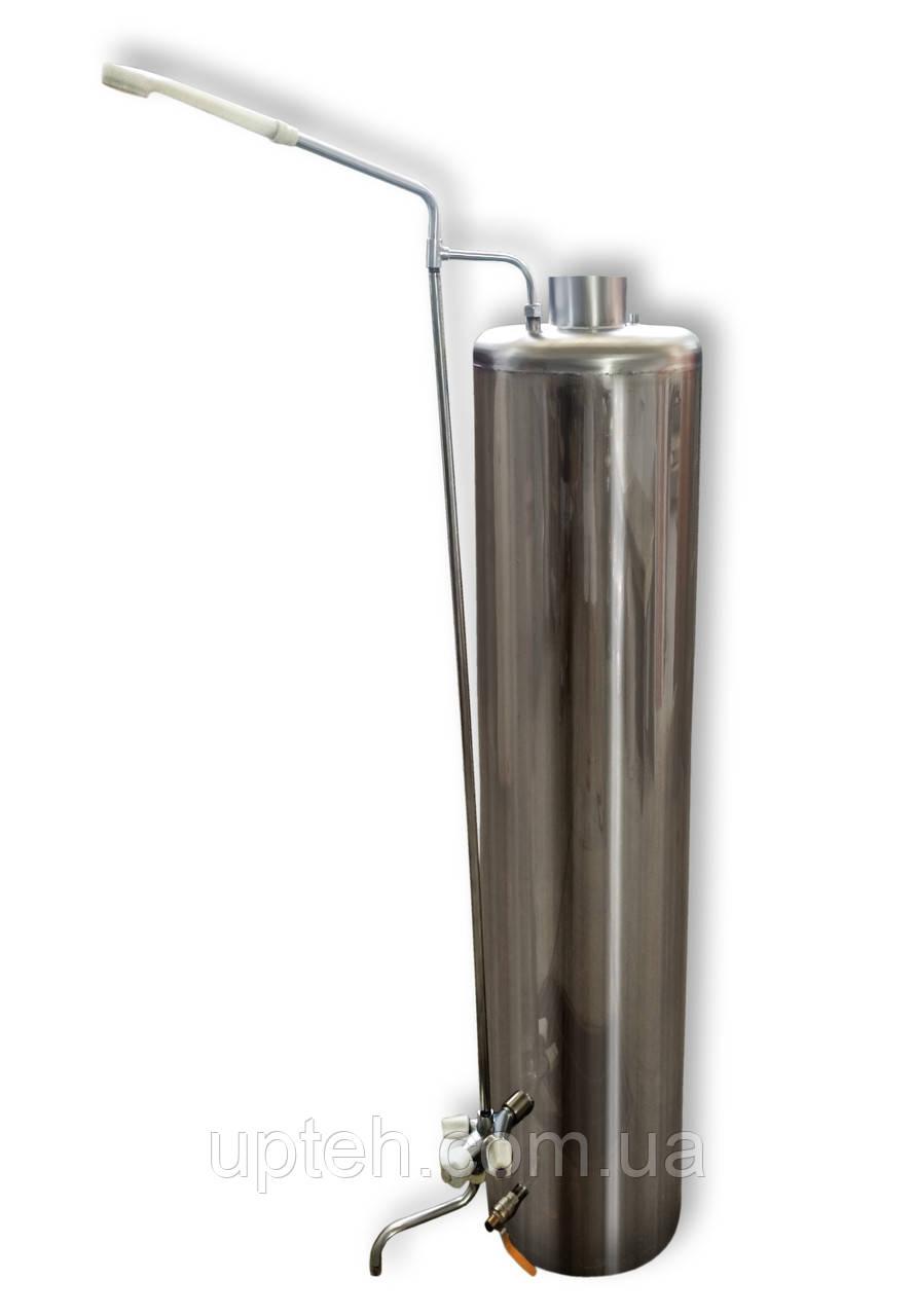 Титан Водогрейный + Набор кранов и душ, Водогрейная колонка