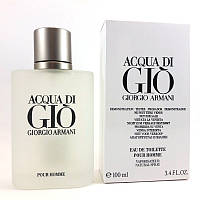 Туалетна вода тестер Giorgio Armani Acqua Di Gio pour homme (Джорджіо Армані Аква Ді Джіо), 100 мл