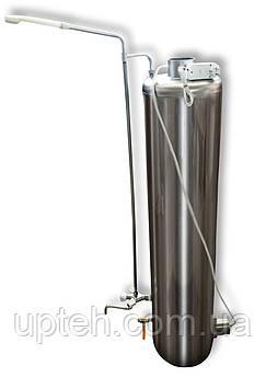 Титан Водогрійний Електро (Універсальний) + Набір кранів і душ, Водогрійна колонка
