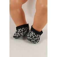 Тапочки джинсовые - одежда и обувь для кукол типа Baby Born