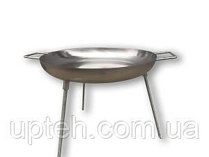 Сковорода (Диск) для пикника из нержавеющей стали (45см.)