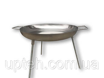 Сковорода (Диск) для пікніка з нержавіючої сталі (45см.)