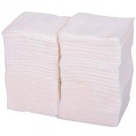 Салфетки бумажные, белые 24×24 см   TPSB24х24