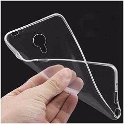 Силиконовый чехол для Samsung J1/J105 Mini Прозрачный Матовый