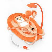 Детский шезлонг-качалка (оранжевый) BT-BB-0002 Or