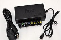 Зарядное устройство универсальное для ноутбуков с насадками MY-120W