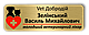 Бейдж металлический именной на магните или булавке 76х25, фото 4