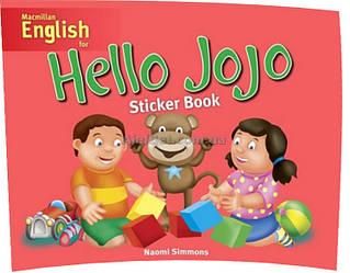 Английский язык / Hello Jojo / Sticker Book. Учебное пособие с наклейками / Macmillan