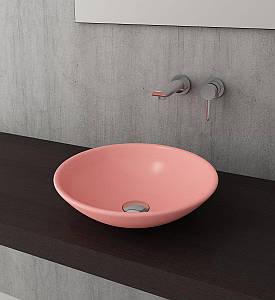 Умивальник BOCCHI Venezia Lavabo 400 рожевий матовий