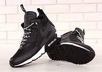 67c71ec0 Мужские зимние кроссовки Nike Air Max 90 Sneakerboot Black/White