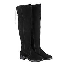VM-Villomi Черные замшевые ботфорты на зиму