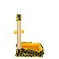 Felita - когтеточка для кошек с мягким угловым диваном, Фелита