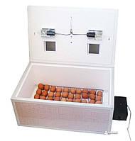 Инкубатор автоматический «Курочка Ряба» ИБ-100 вместимостью 100 яиц с двойным пластиковым корпусом, фото 1
