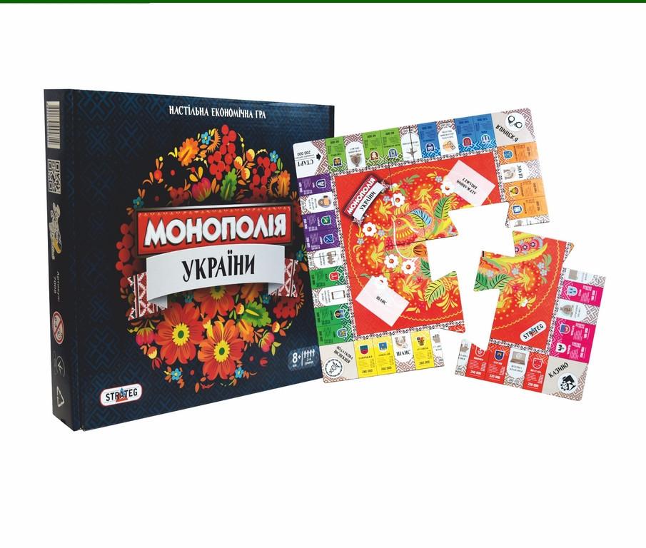 Игра Монополия Украини 7008 Strateg