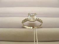 Кольцо серебро 925, цирконий, размер 18 вес 2,5