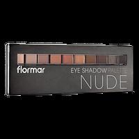 Палетка теней Flormar Nude