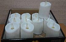 Світлодіодні свічки з мерехтливим полум'ям 7 см