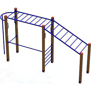 Гимнастический комплекс PlaySport (Рукоходик), код: PS-602