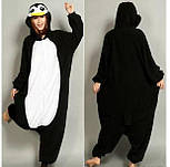 (S, XL) Кигуруми пингвин черно-белый (взрослый) v2400, фото 6