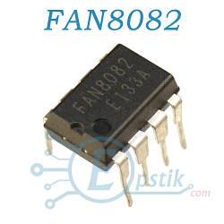 FAN8082, двунаправленный драйвер двигателя постоянного тока, DIP8