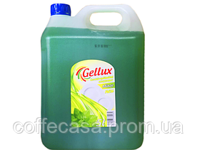 Средство для мытья посуды Gellux Geschirrspulmittel (мята) 5л