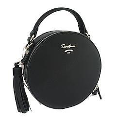 Круглая женская сумка D. Jones СМ4059