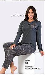 Женские пижамы плотный коттон, размер S