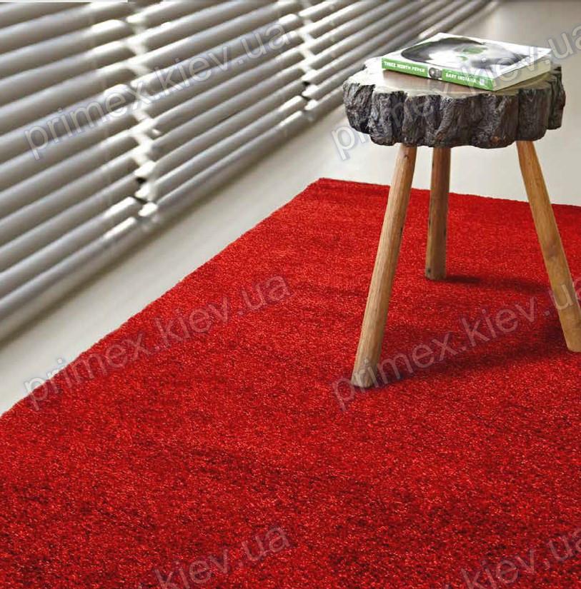 Ковер для дома Opal Cosy uni цвет coral red