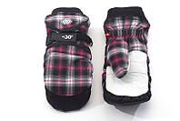Перчатки Kombi SPOOKY WG W женские, чёрные с фиолетовым в клеточку, размер M
