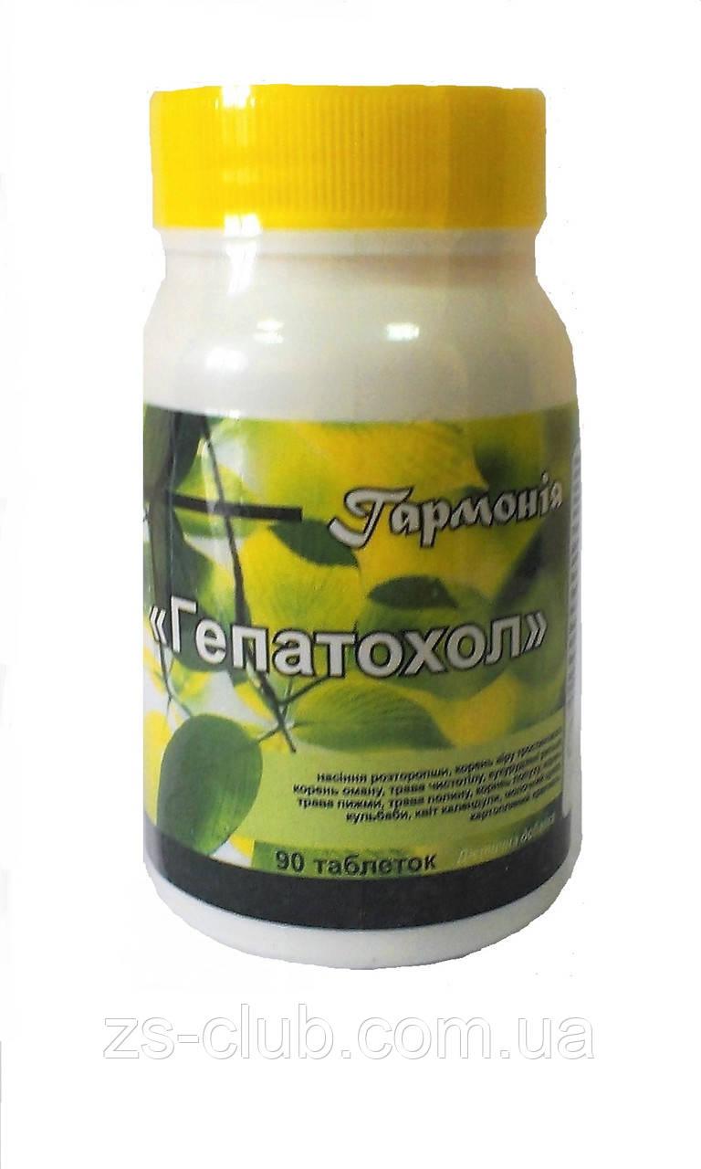 Таблетки Гепатохол, для улучшения работы печени и желчного пузыря