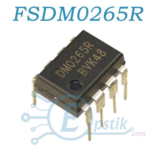FSDM0265RN, ШИМ контроллер, DIP8