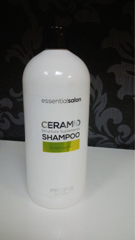 Шампунь для пошкодженого волосся Ceramid 1000мл. Profis