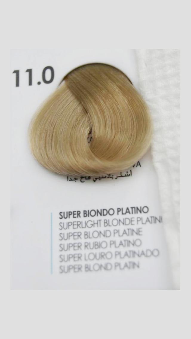 11/0 Крем-краска для волосся Fanola 100 ml.