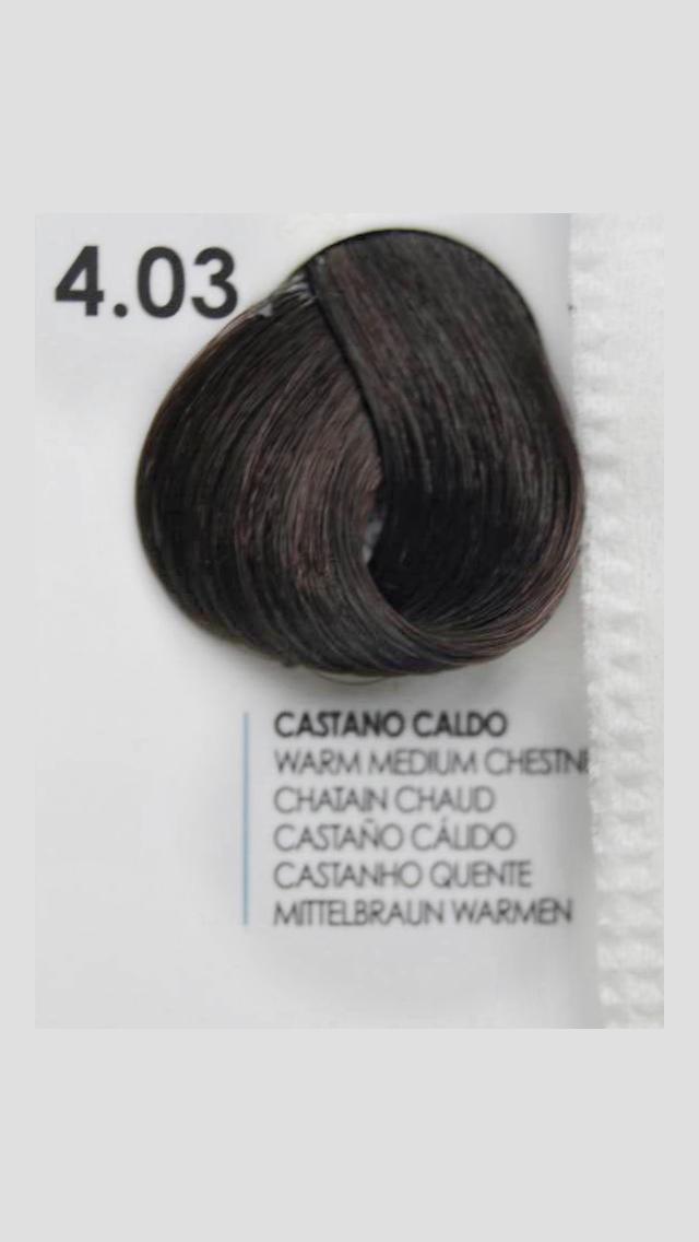 4/03 Крем-краска для волосся Fanola 100 ml.