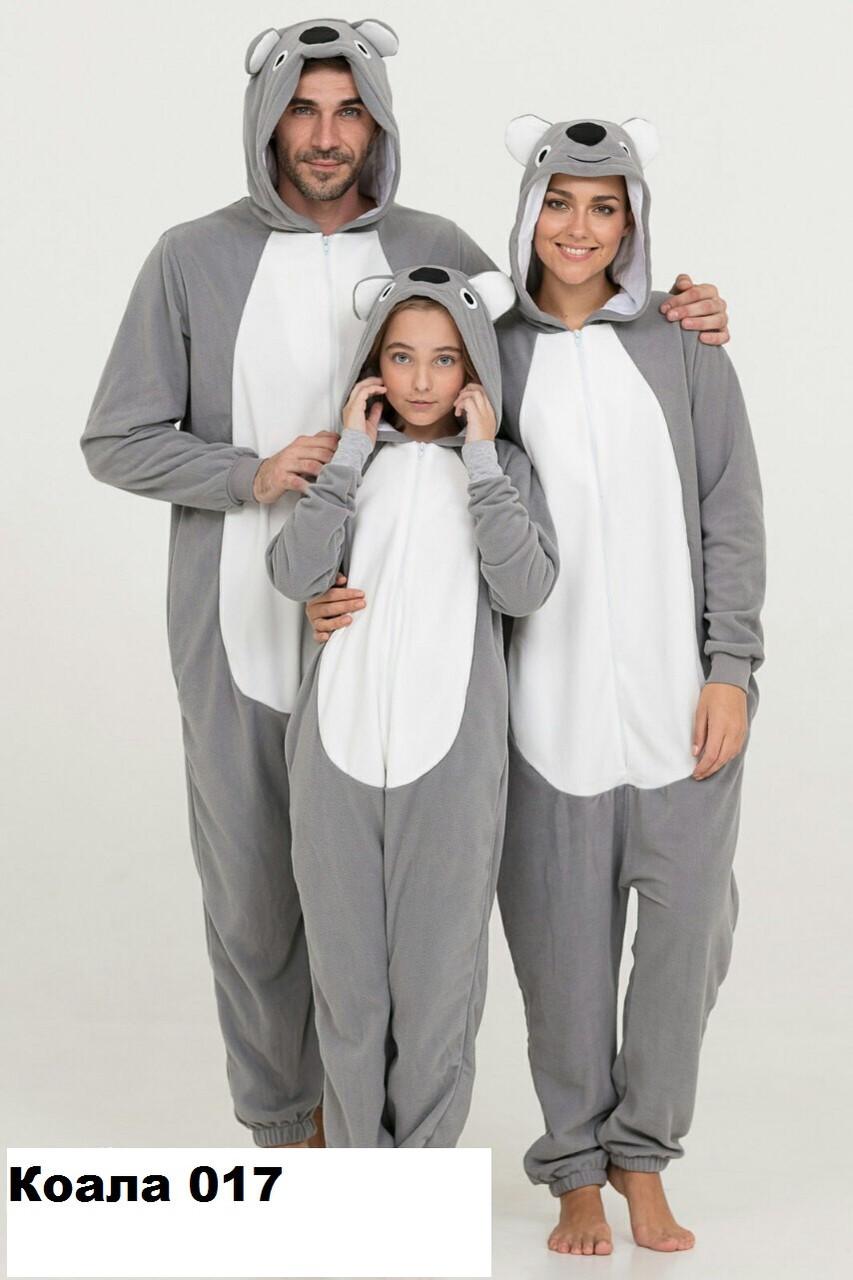 Пижама кигуруми Family look  Коала 017