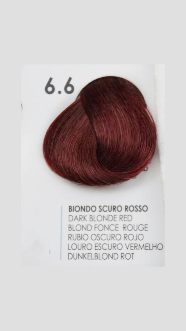 6/6 Крем-краска для волосся Fanola 100 ml.