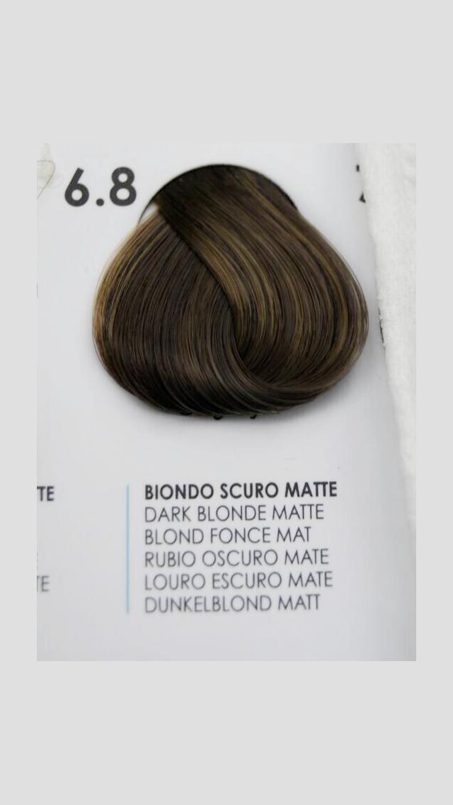 6/8 Крем-краска для волосся Fanola 100 ml.