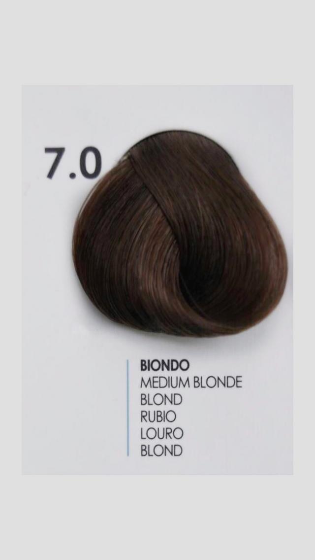 7/0 Крем-краска для волосся Fanola 100 ml.