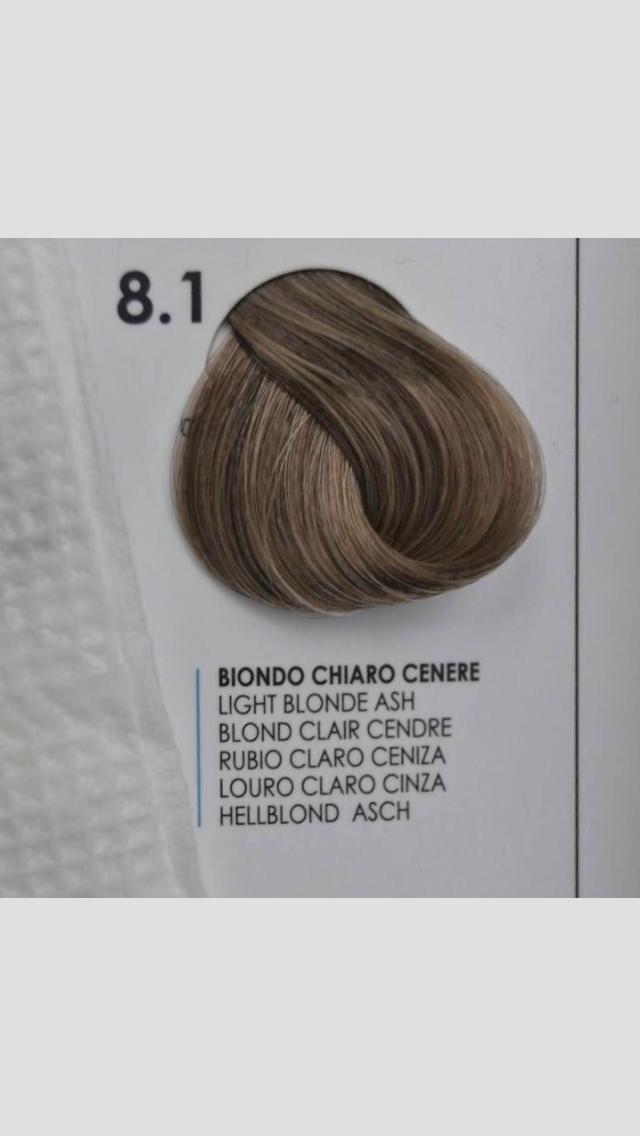 8/1 Крем-краска для волосся Fanola 100 ml.