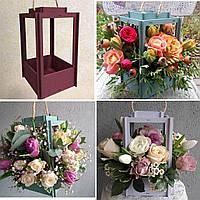 Ящик для цветов и декора - Фонарь