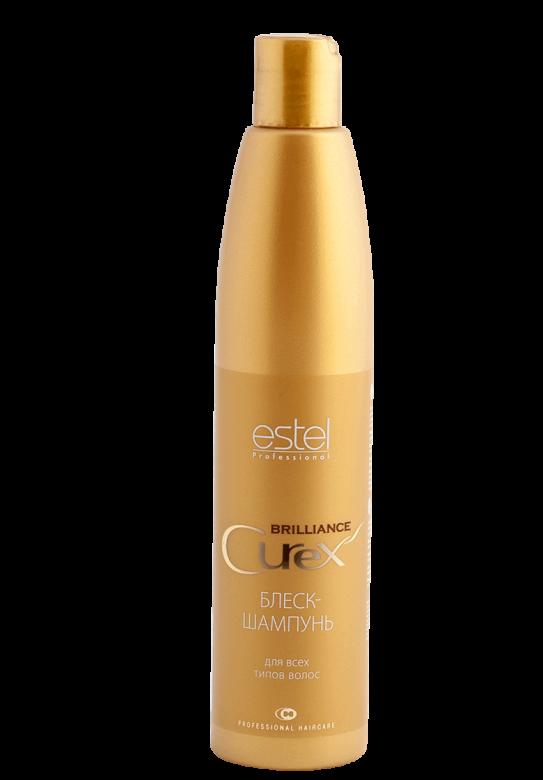 Блиск-шампунь для всііх типів волосся BRILLIANCE 300мл.