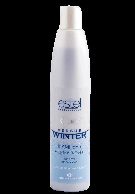 Шампунь VERSUS WINTER Захист та живлення з антистатичним ефектом для всіх типів волосся 300мл.