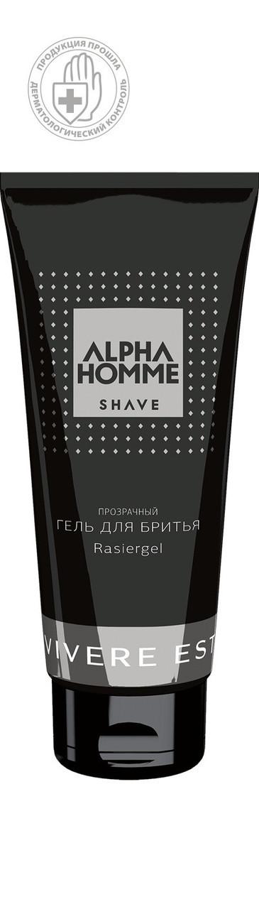 Гель для гоління ALPHA HOMME SHAVE 100мл.