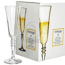 Бокал для шампанского Pasabahce Vintage, 190 мл (h=230 мм, d=70х65 мм), 6 шт. 440283