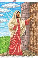 Схема для вышивки бисером Исус  стукаэ в двері  СВР 2010  формат А2